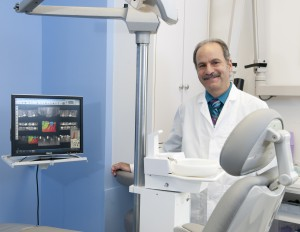Natick Dentist, Dr. James Sunners DDS at his practice